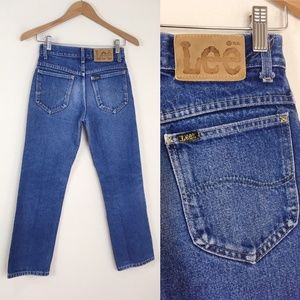 VTG LEE RIDERS Perfectly Faded Denim Jeans Midrise